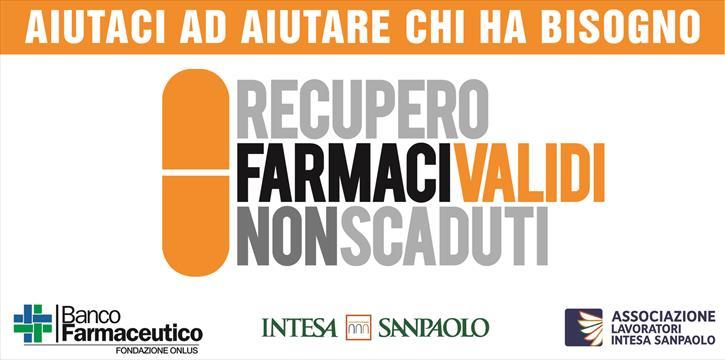 Recupero Farmaci Validi Non Scaduti.Associazione Lavoratori Intesasanpaolo